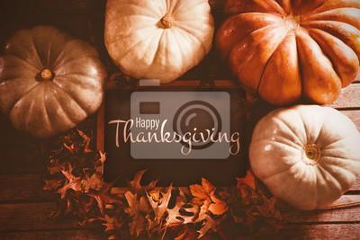 Image Image composite de l'illustration du texte de joyeux jour de thanksgiving