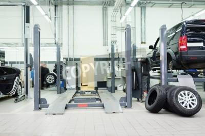 Image Image d'un garage de réparation