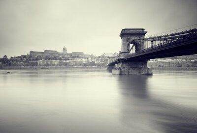 Image Image hiver sombre des monuments hongrois,