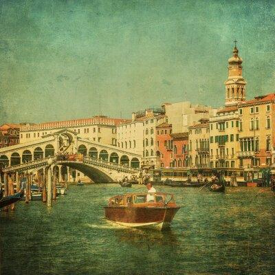 Image Image vintage de Grand Canal, Venise