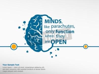 Image Inspiration, motivation, citation, cerveau, fond