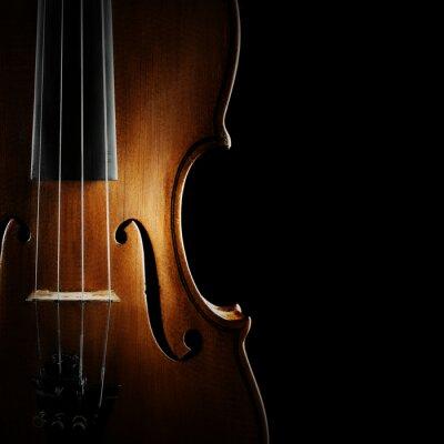 Image Instruments de musique pour violon de l'orchestre