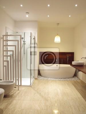 Image: Intérieur moderne de salle de bains