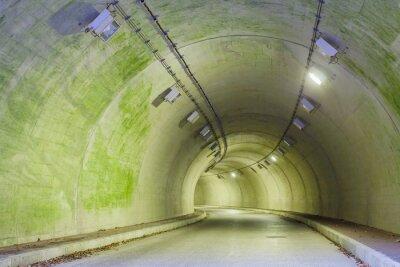 Image Intérieur, urbain, tunnel, montagne, sans, trafic