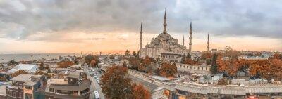 Image Istanbul - City skyline panoramique