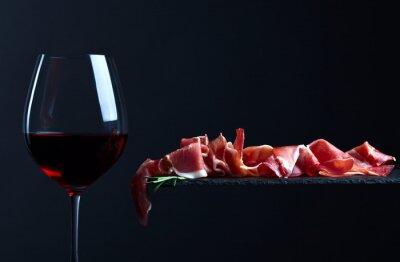 Image Jamon au vin rouge