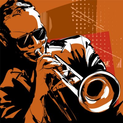 Image Jazz trompettiste