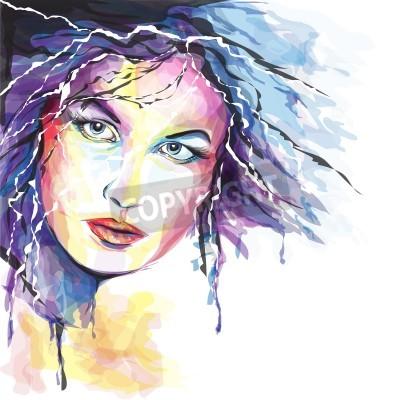 Image Jeune femme portait
