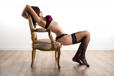 Image Jolie fille sous-vêtements