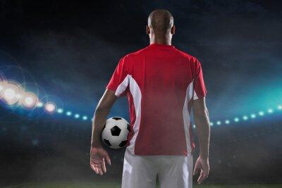 Image Joueur avec ballon de soccer