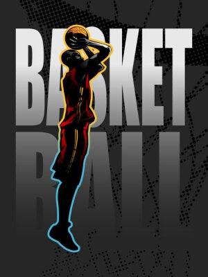 Image Joueur de basket pousses