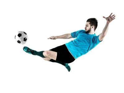 Image Joueur de football homme isolé