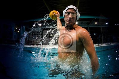 Image joueur de water-polo