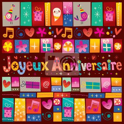 Joyeux Anniversaire Joyeux Anniversaire En Francais Peintures