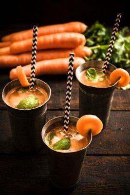 Image Jus de carotte maison