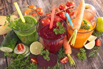 Image Jus de légumes de désintoxication