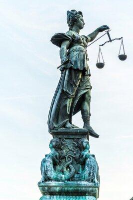 Image justice dame à Francfort