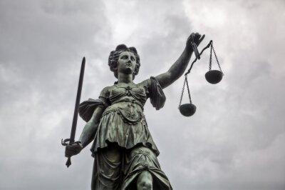 Image Justitia Statue à Francfort