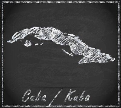 Image Karte von Kuba