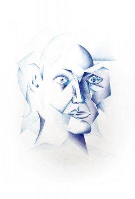 Image Kubistisches Gesicht