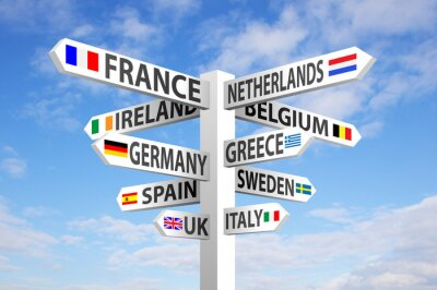 Image L'Europe d'orientation