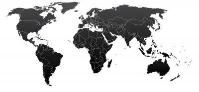 Image La carte politique du monde