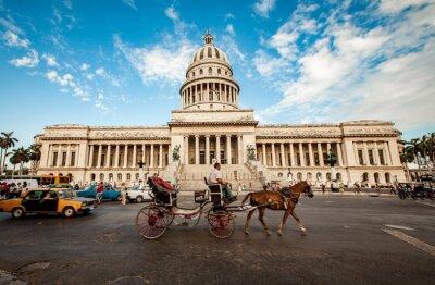 Image LA HAVANE, CUBA - 7 JUIN: Bâtiment capital de Cuba Juin 7th 2011 i