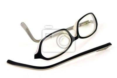 La monture de lunettes cassée peintures murales • tableaux magasin d ... db799aa4abc5