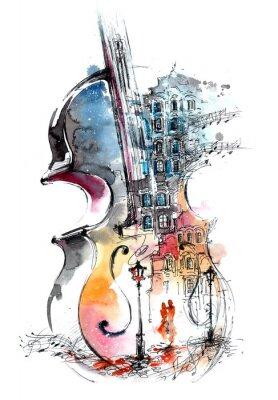 Image la musique et la ville