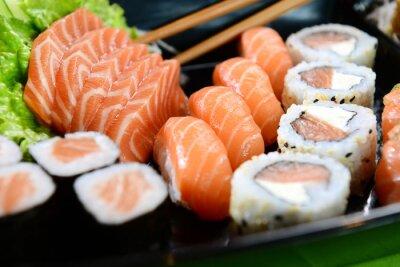 Image La nourriture japonaise - Sushi