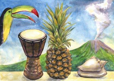Image La peinture à l'aquarelle.