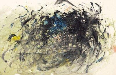 Image La peinture de fond abstrait ou Art