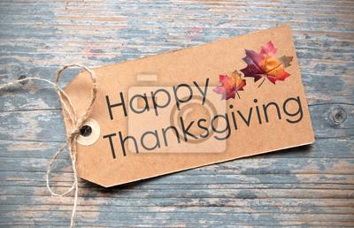 Image label thanksgiving