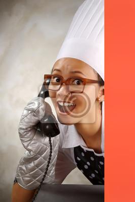Le chef appelant par téléphone