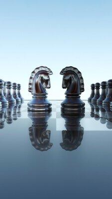 Image Le concept échiquier - Springer duel
