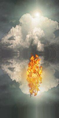 Image Le feu et l'eau
