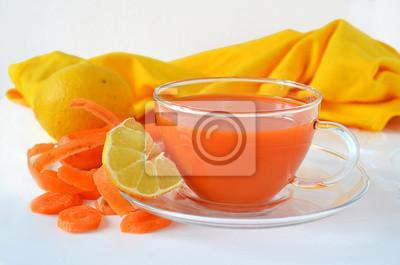 Le jus de carotte