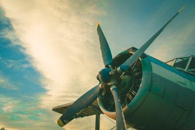 Image Le poste de pilotage de l'ancien avion. Avion abandonné