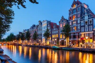 Image Les canaux d'Amsterdam.