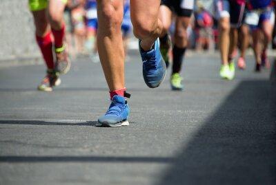 Image Les coureurs de marathon