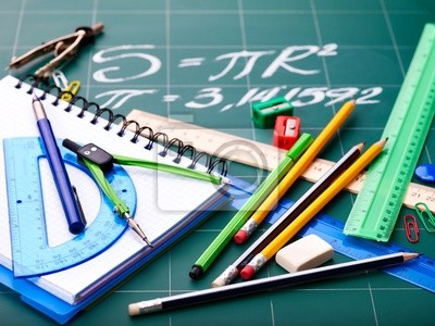 Les fournitures scolaires.