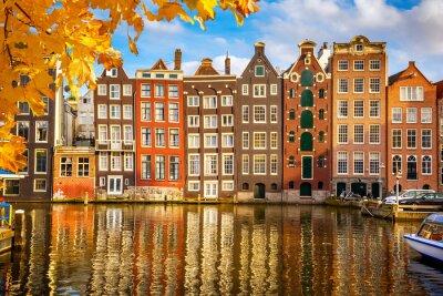 Image Les vieux bâtiments à Amsterdam