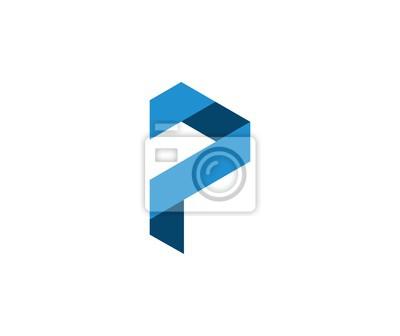 Image: Lettre p logo