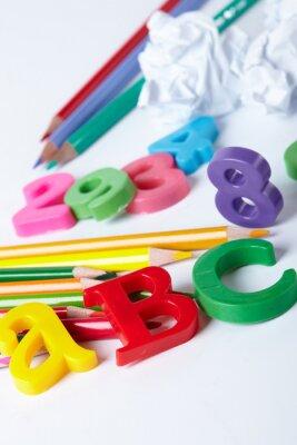 Image Lettres de l'alphabet plastique