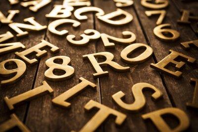 Image Lettres dorées