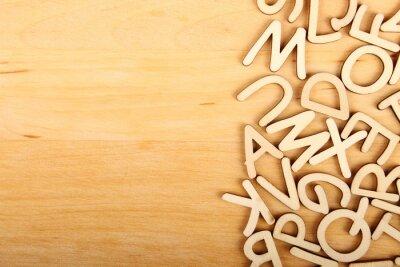 Image Lettres et chiffres