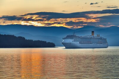 Image Lever de soleil dans l'archipel grec