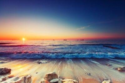 Image Lever de soleil sur la mer
