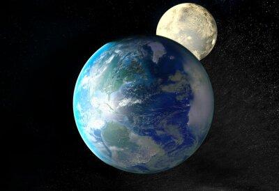 Image Lever de soleil sur la Terre vue de l'espace