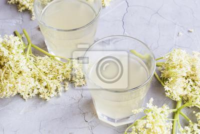 Limonade de fleurs de sureau